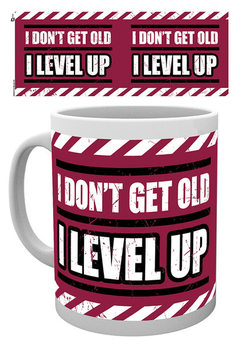 Gaming - I Level Up - Available worldwide Kubek