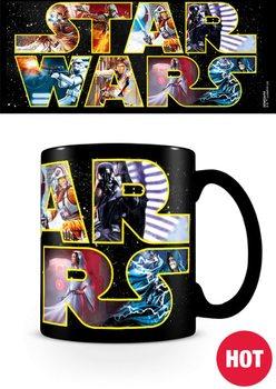 Gwiezdne wojny - Logo Characters Kubek