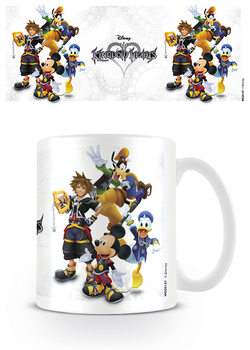 Kingdom Hearts - Group Kubek