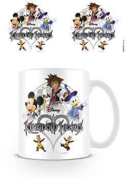 Kingdom Hearts - Logo Kubek
