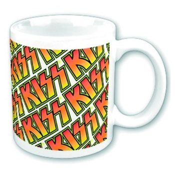KISS - Boxed Mug Tiles Kubek