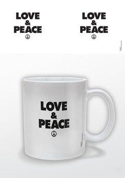 Love & Peace Kubek