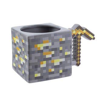 Kubek Minecraft - Gold Pickaxe