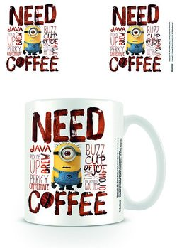 Minionki (Despicable Me) - Need Coffee Kubek