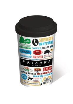 Przyjaciele TV - Infographic Travel Mug Kubek