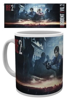 Resident Evil 2 - City Key Art Kubek
