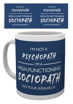 Sherlock - I'm Not a Psychopath Kubek