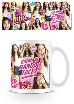 Soy Luna - Random Faces Kubek