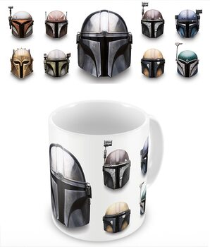 Star Wars: The Mandalorian - Helmets Kubek