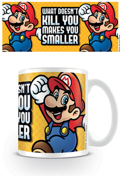 Super Mario - Makes You Smaller Kubek