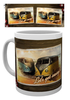 VW Camper - Lets Get Away Kubek