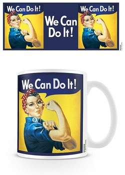 We Can Do It! - Rosie The Riveter Kubek
