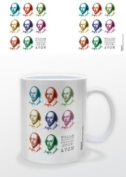 William Shakespeare - Pop Art Kubek
