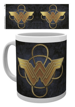 Wonder Woman - Gold Logo Kubek