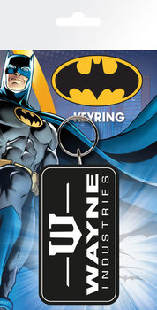 Batman Comic - Wayne Industries kulcsatartó