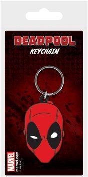Deadpool - Face kulcsatartó