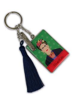 Frida Kahlo - Green Vogue kulcsatartó