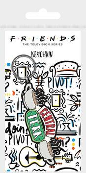 Jóbarátok Sketch - Central Perk Sketch kulcsatartó