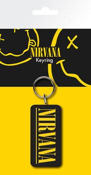 Nirvana - Logo kulcsatartó
