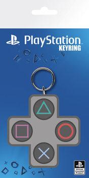 Playstation - Buttons kulcsatartó