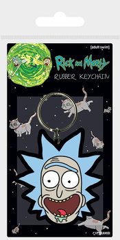 Rick and Morty - Rick Crazy Smile kulcsatartó
