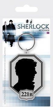 Sherlock - Silhouette kulcsatartó