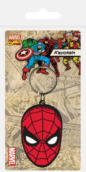 Spiderman - Face kulcsatartó