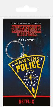 Stranger Things - Hawkins Police Patch kulcsatartó