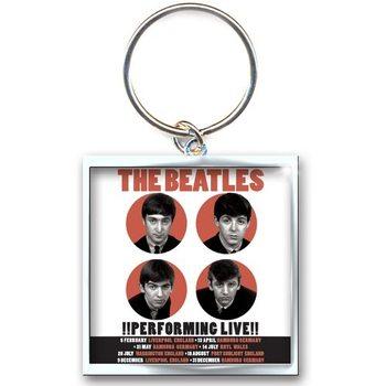 The Beatles - Perfoming Live kulcsatartó