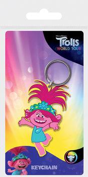 Trollok a világ körül - Poppy kulcsatartó
