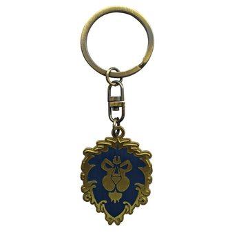 World Of Warcraft- Alliance kulcsatartó