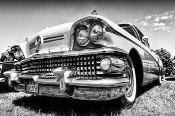 Kunst op glas Cars - Retro Cadillac