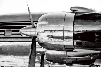 Kunst op glas Plane - Red Bull