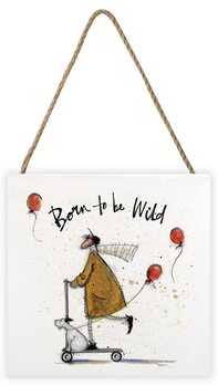 Bilde - Kunst på tre Sam Toft - Born to be Wild