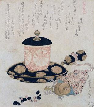 A Pot of Tea and Keys, 1822 Kunsttrykk