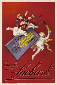 Advertising poster for Milka chocolates by Suchard, 1925 Kunsttrykk