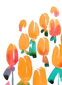 Illustrasjon Alicia's garden
