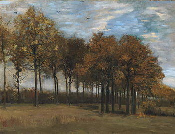 Autumn Landscape, c.1885 Kunsttrykk