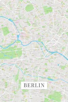 Kart over Berlin color