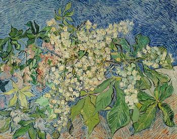 Blossoming Chestnut Branches, 1890 Kunsttrykk