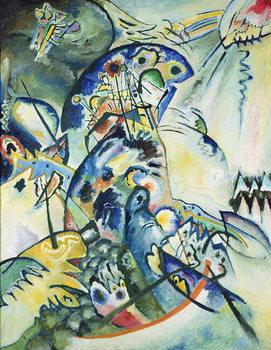 Blue Comb, 1917 Kunsttrykk