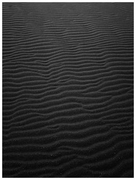 Illustrasjon Border black sand