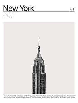 Illustrasjon City New York 2