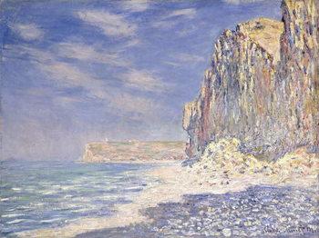 Cliffs near Fecamp, 1881 Kunsttrykk