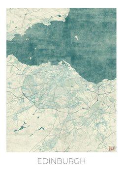 Kart over Edinburgh