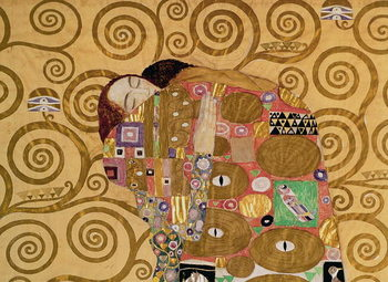 Fulfilment (Stoclet Frieze) c.1905-09 (tempera, w/c) Kunsttrykk