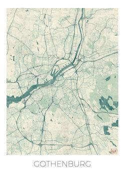 Kart over Gothenburg