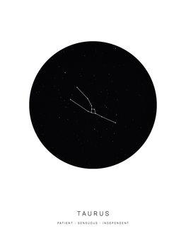 Illustrasjon horoscopetaurus