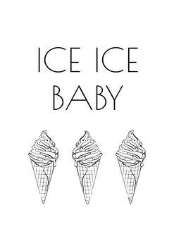 Illustrasjon Ice Baby