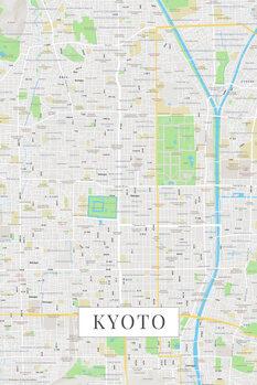 Kart over Kyoto color
